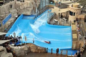 Аквапарк в Дубае (видео)