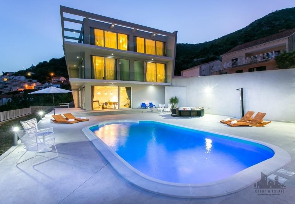 villa croatia private pool